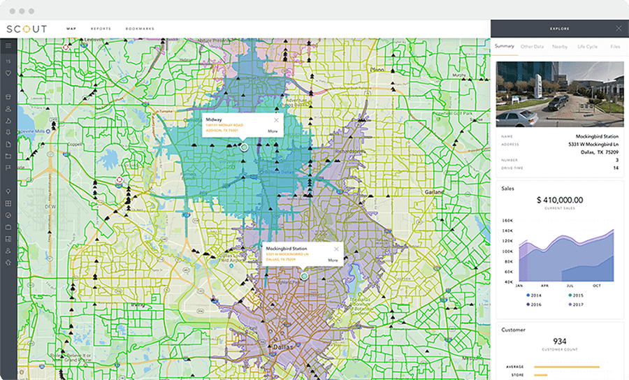 Daypart Optimization screen in SCOUT