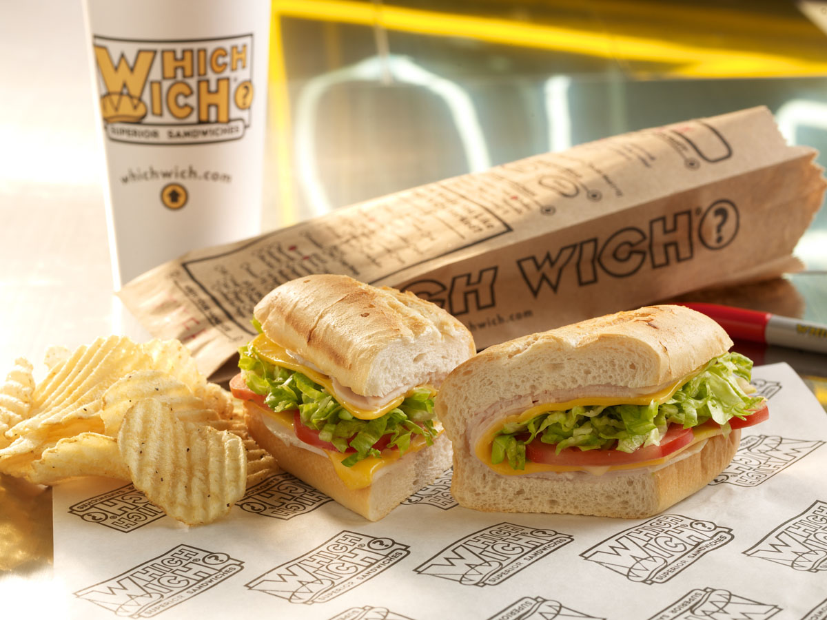 Which-wich sandwiches new chain