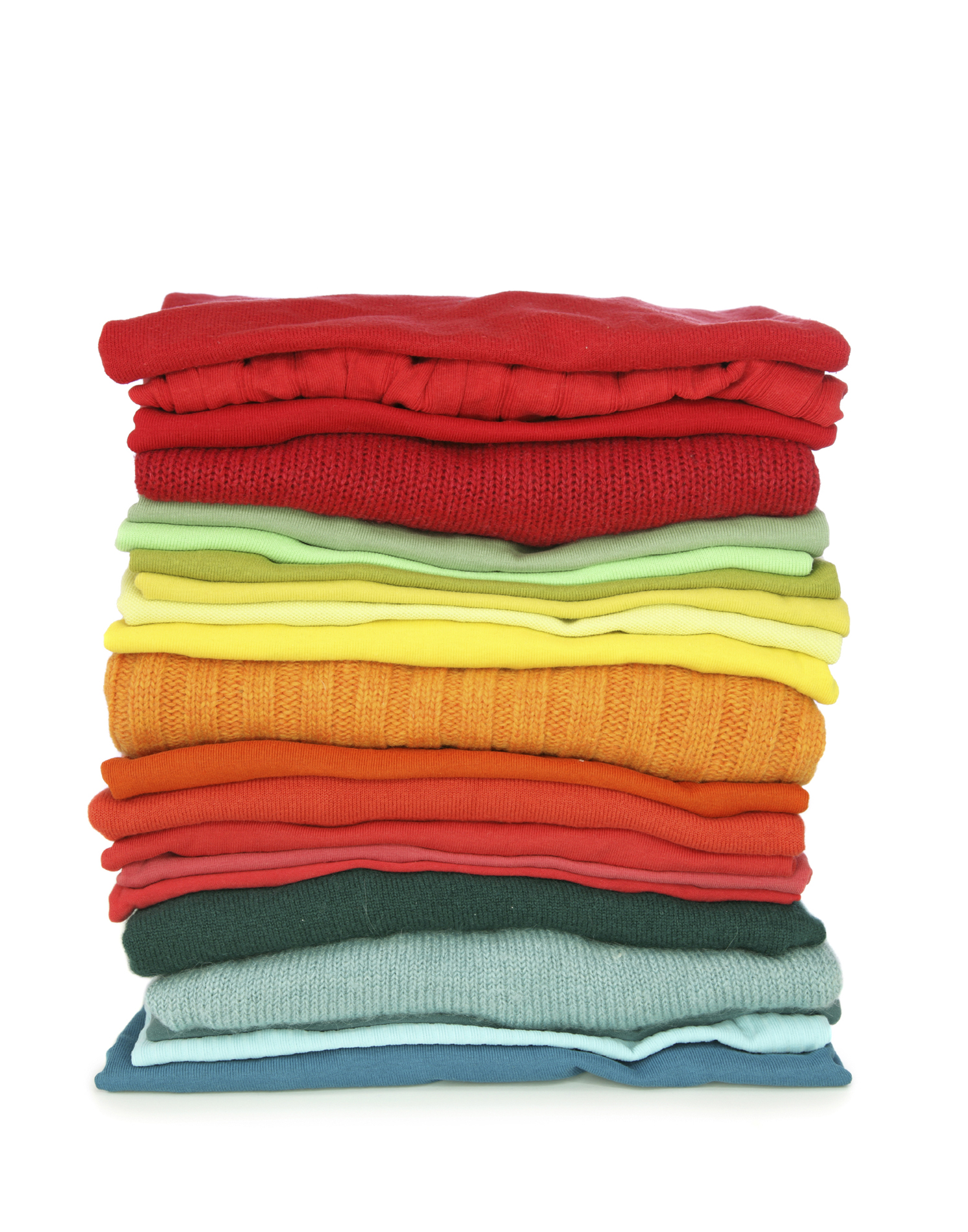 stack of clothes apparel industry growth