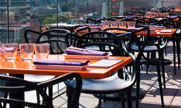 Empty restaurant patio seats, fill them with customers using analytics