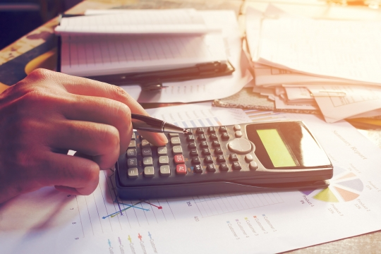 Calculating increase in sales tax revenue