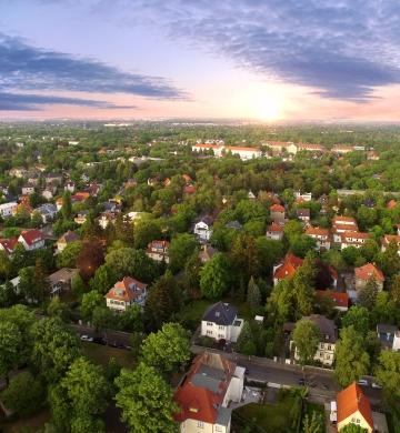 Neighborhood Aerial Photo