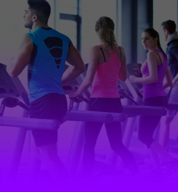 Live-purple-lsmx-partnership-gym-members-running