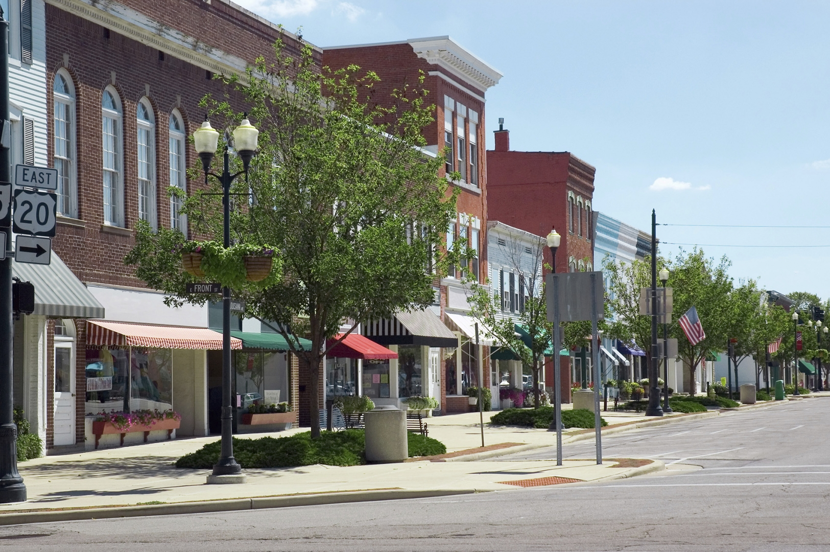 Retail space open for emerging concept.