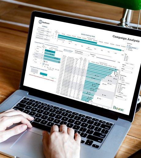 Healthcare patient acquisition retention screen